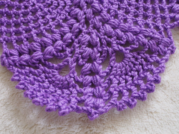 Marvel Purple Shawl
