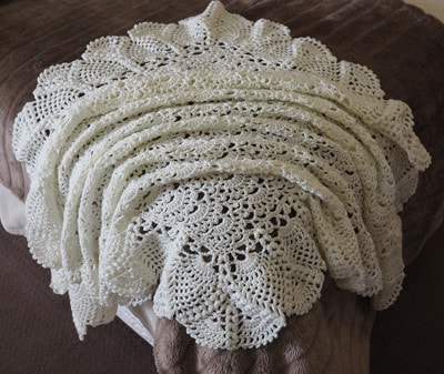 Cream Marvel Shawl